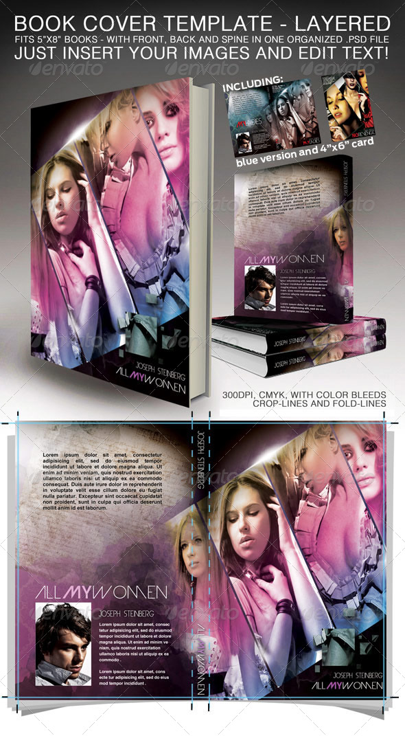 Graphicriver Book Cover Template Vol : Mugshot card template dondrup