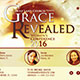 Grace Revealed: Church Flyer Template - GraphicRiver Item for Sale