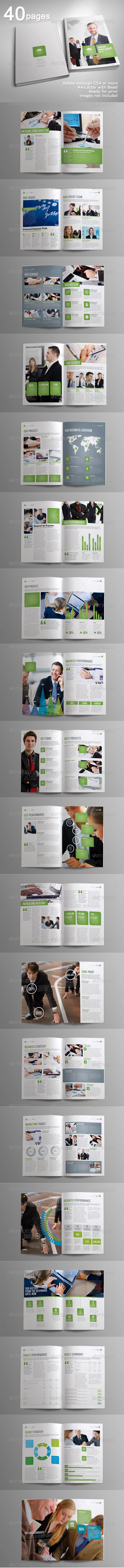 GraphicRiver 40 Pages Indah Corporate Brochure Volume 2 4275794