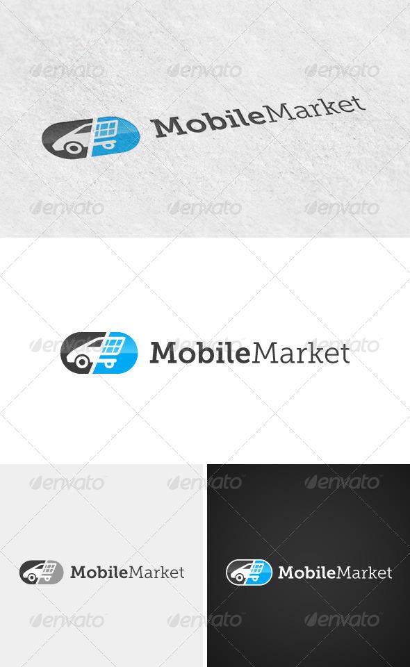 Mobile Market logo - Logo Templates