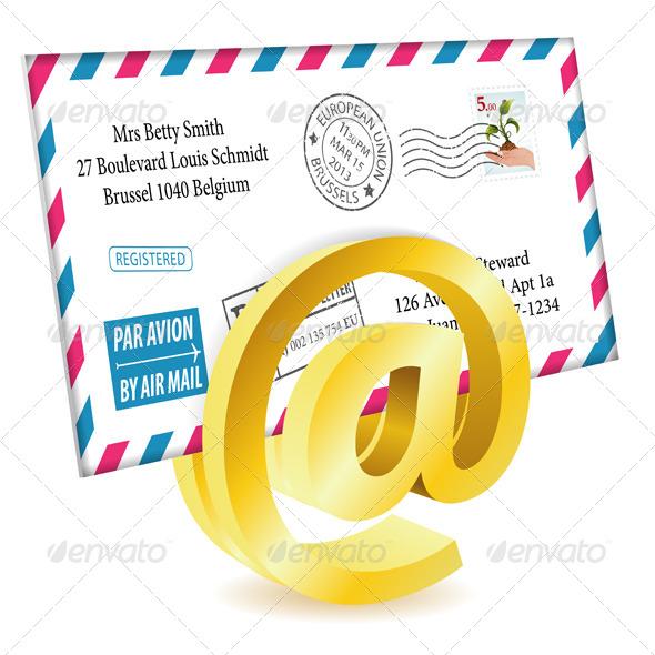 GraphicRiver E-Mail Concept 4276375
