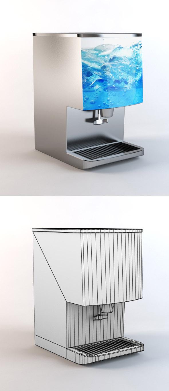 3DOcean Ice Dispenser 4276577
