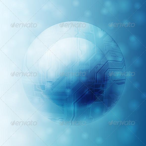 GraphicRiver Futuristic Background 4276579