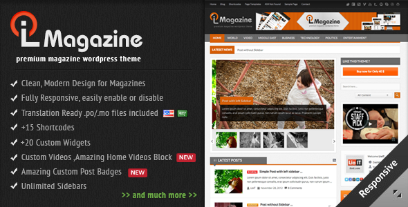 LioMagazine - Premium WordPress News/Magazine