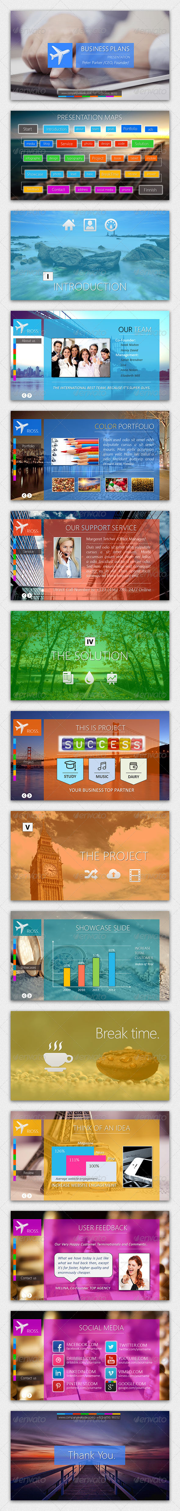GraphicRiver Rioss Powerpoint Presentation Template 4276814