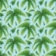 Seamless Background, Palm Leaves and Sky