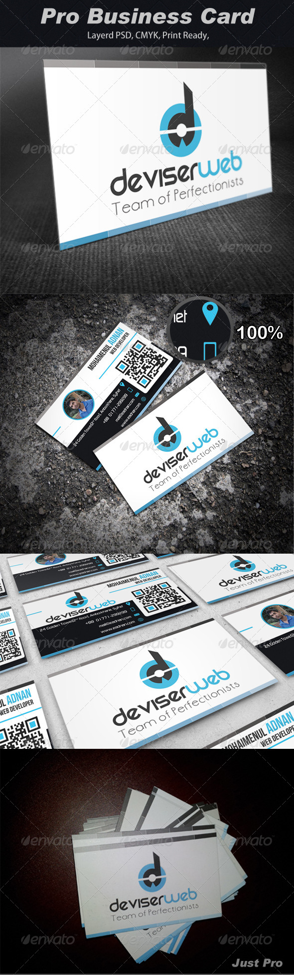 GraphicRiver Pro Business Card 4063953