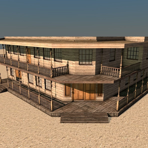 3DOcean Western Building C 4278226