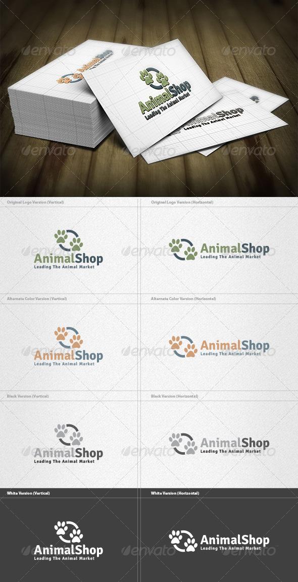 GraphicRiver Animal Shop Logo 4279556