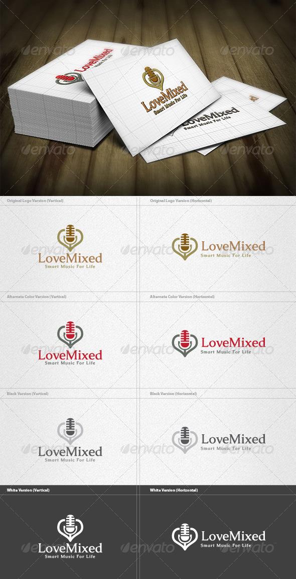 GraphicRiver Recorder Lover Logo 4279730