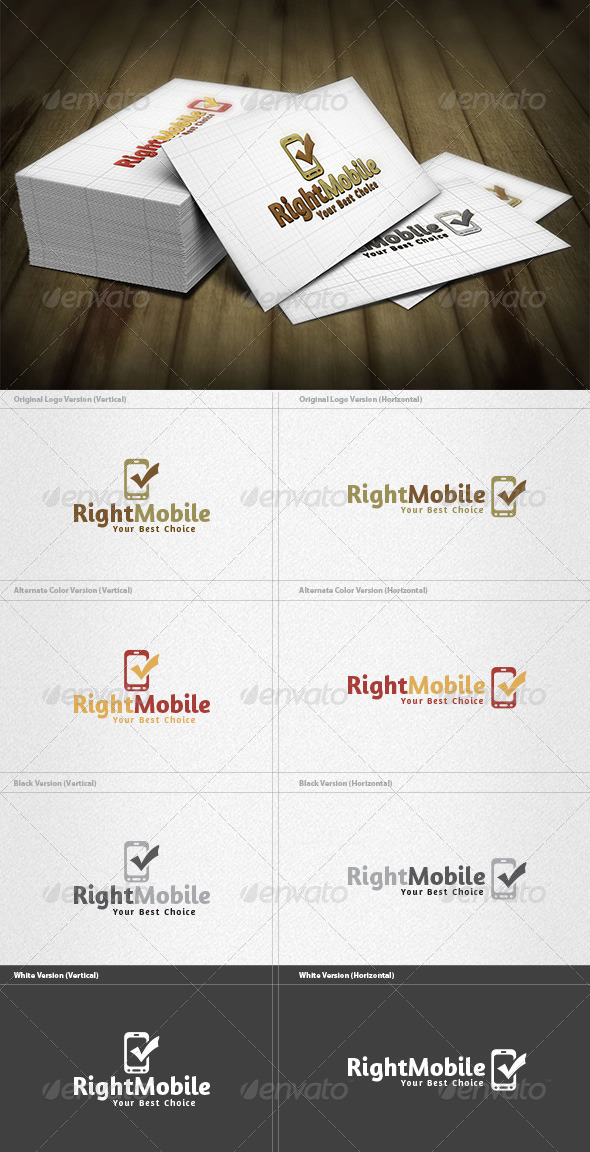 GraphicRiver Right Mobile Logo 4279736