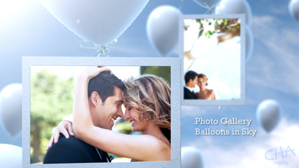 Photo Gallery Floating Balloons in Sky