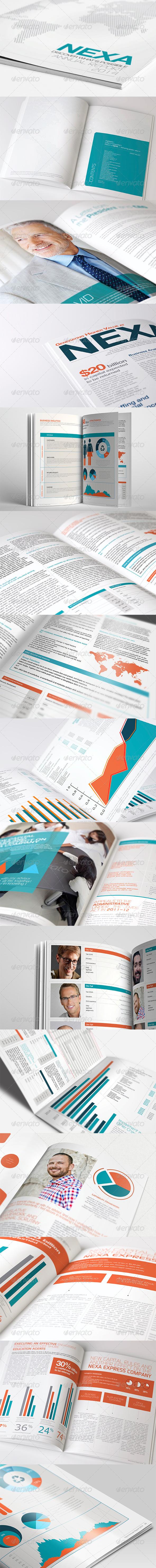 GraphicRiver Annual Report Brochure Ver 3.0 4280498