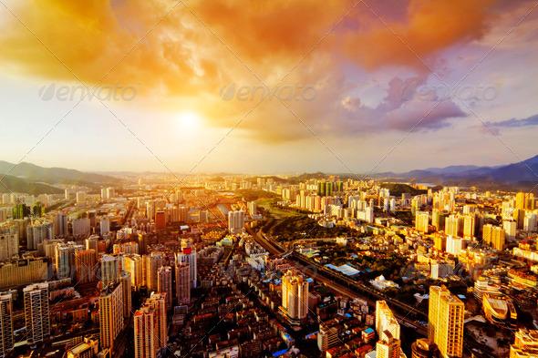 PhotoDune chinese city 4282005