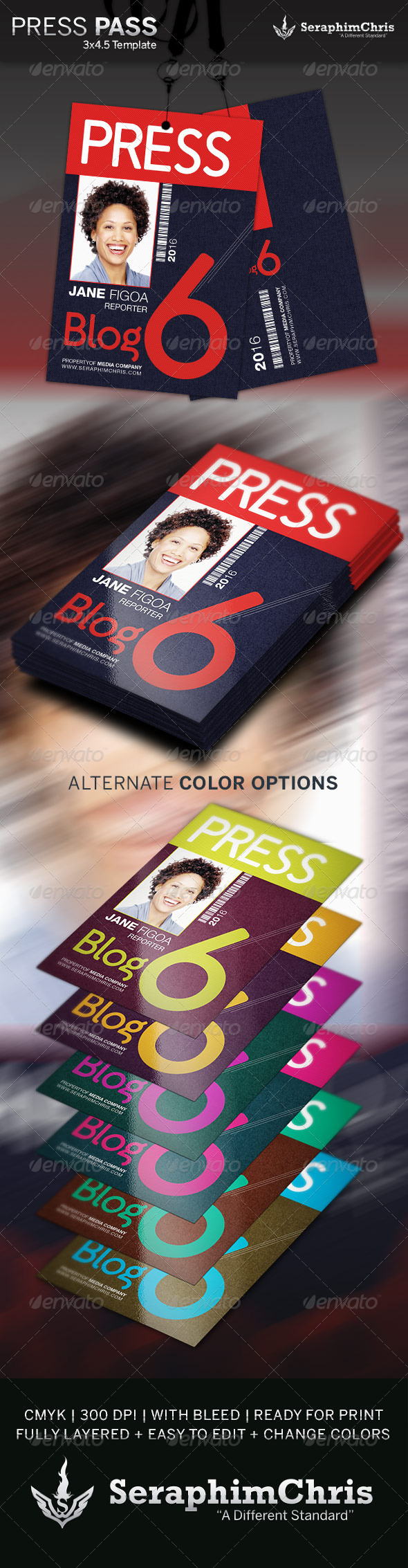 GraphicRiver Press Pass Template 2 4282256