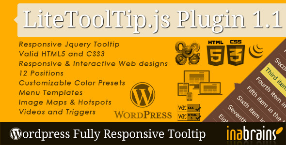 Wordpress LiteTooltip.js Plugin