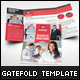 Business Brochure Gate Fold Template