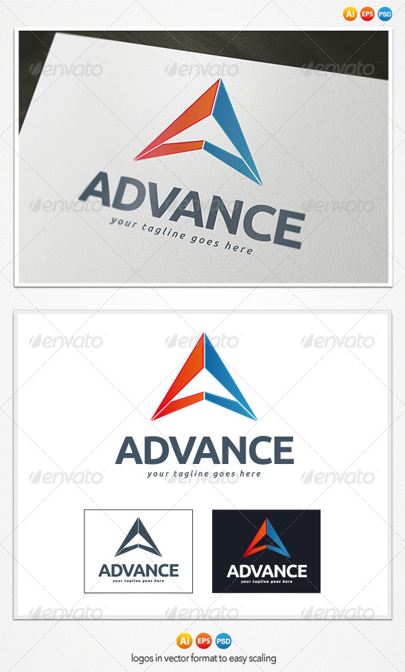 GraphicRiver Advance Logo 4284911