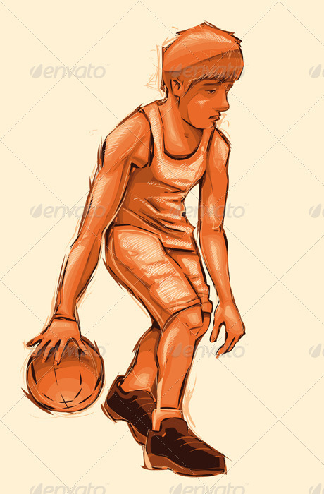 GraphicRiver Basket boy 462488