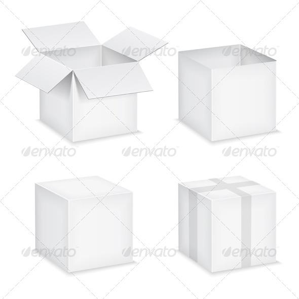 GraphicRiver Paper Boxes 4286477