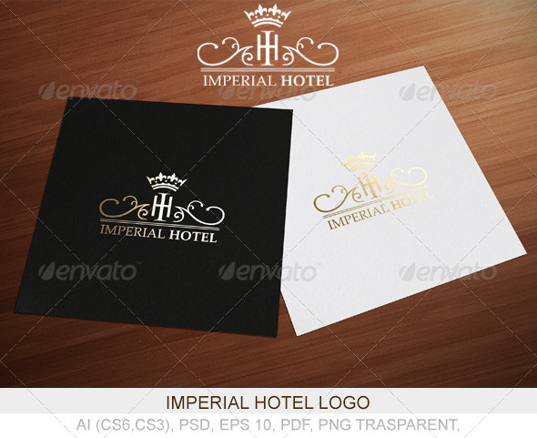 GraphicRiver Imperial Hotel Logo 4179535