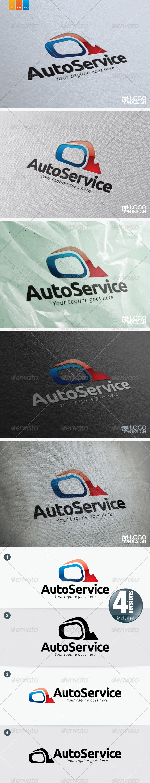 Auto Service - Objects Logo Templates