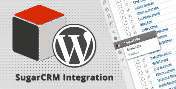 CodeCanyon WordPress SugarCRM Integration 4286668