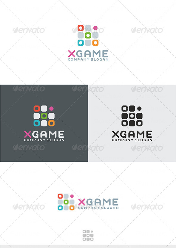 X Game Logo - Letters Logo Templates