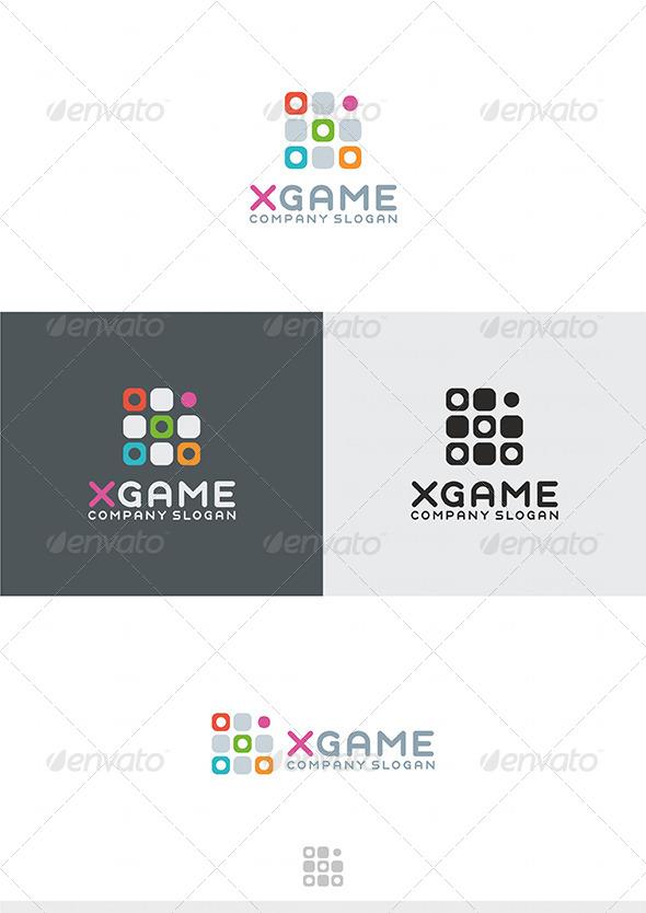 GraphicRiver X Game Logo 4286763