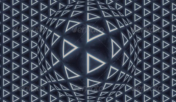Triangle World - Stock Photo - Images
