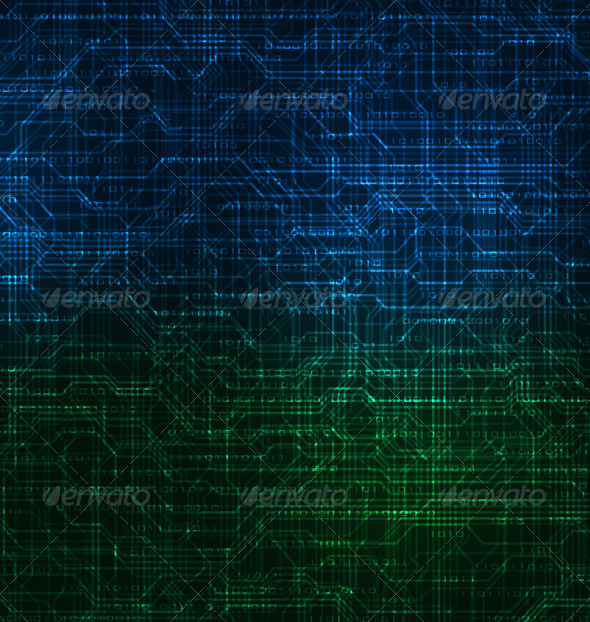 Modern Technology Theme Background