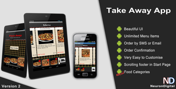 Take Away App - CodeCanyon Item for Sale