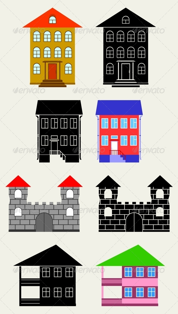 GraphicRiver Small Houses 4287649