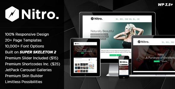 Nitro: Responsive MultiPurpose Theme