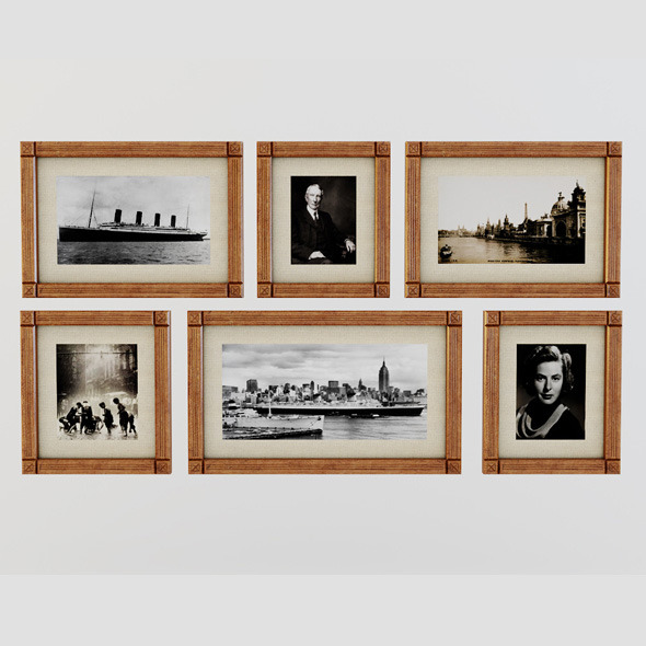 3DOcean Picture Frames 4287753