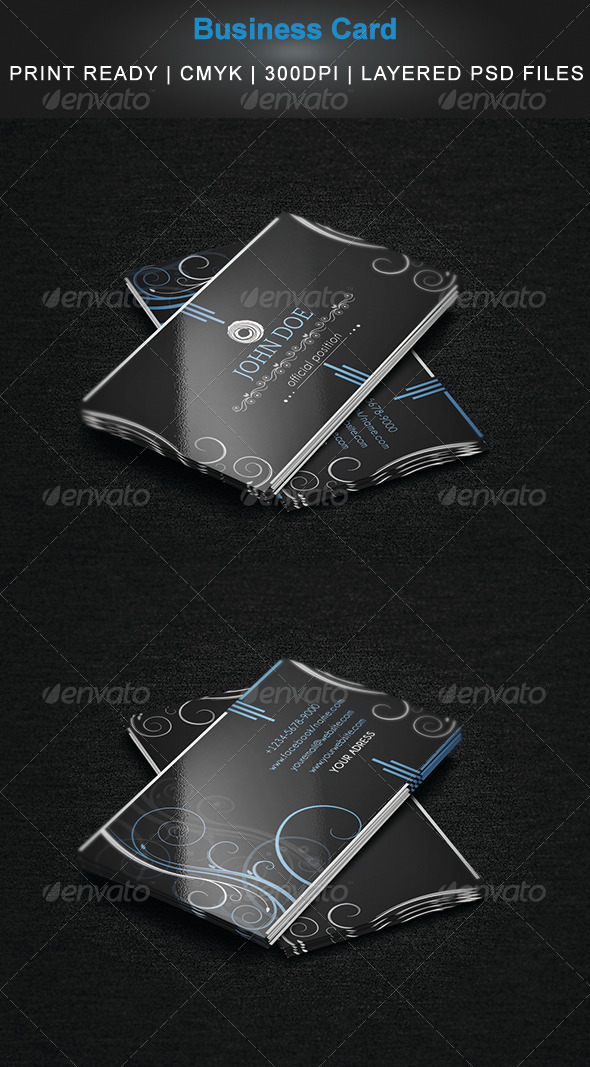 GraphicRiver Business Card 4060659