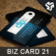 Business Card Design 21 - GraphicRiver Item for Sale