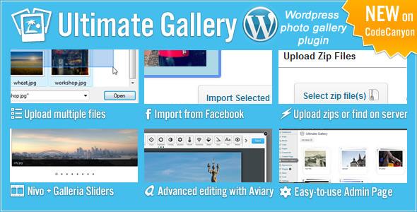 CodeCanyon Ultimate Gallery 4289167