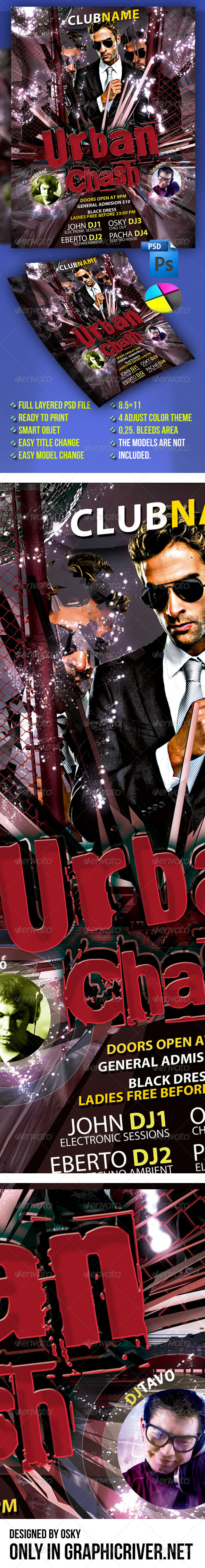GraphicRiver Urban Crash Party 4289632