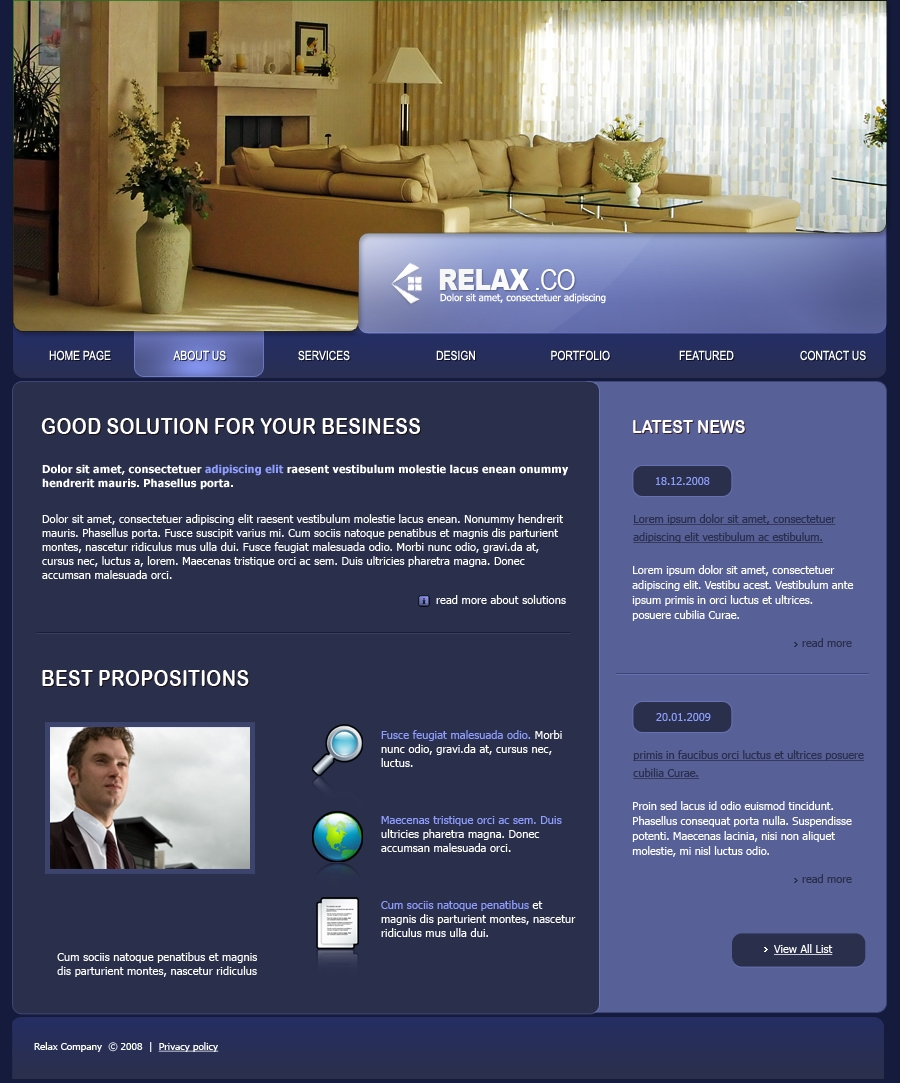 Relax Furniture Company