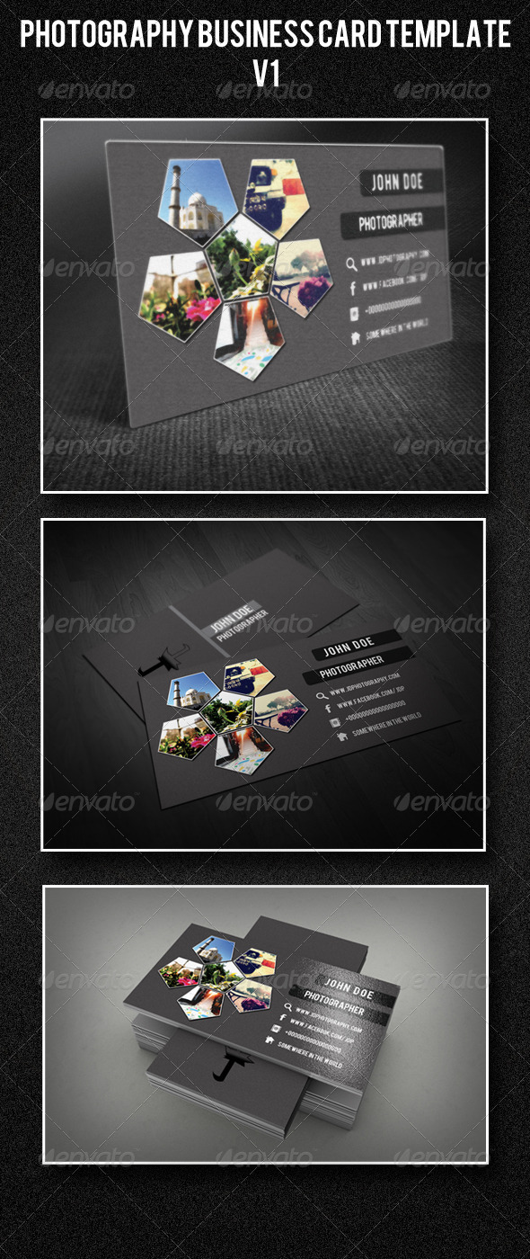 GraphicRiver Photography Business Card Template V1 4291402