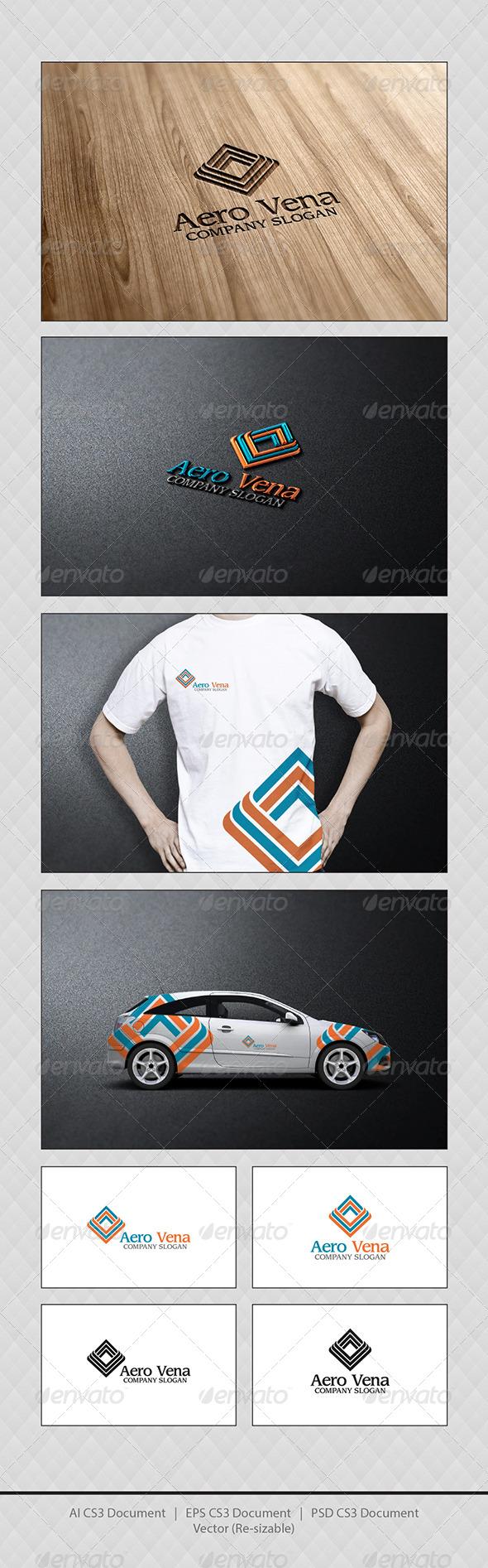 GraphicRiver Aero Vena Logo Templates 4170806