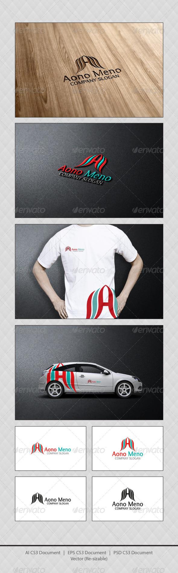 GraphicRiver Aono Meno Logo Templates 4171162