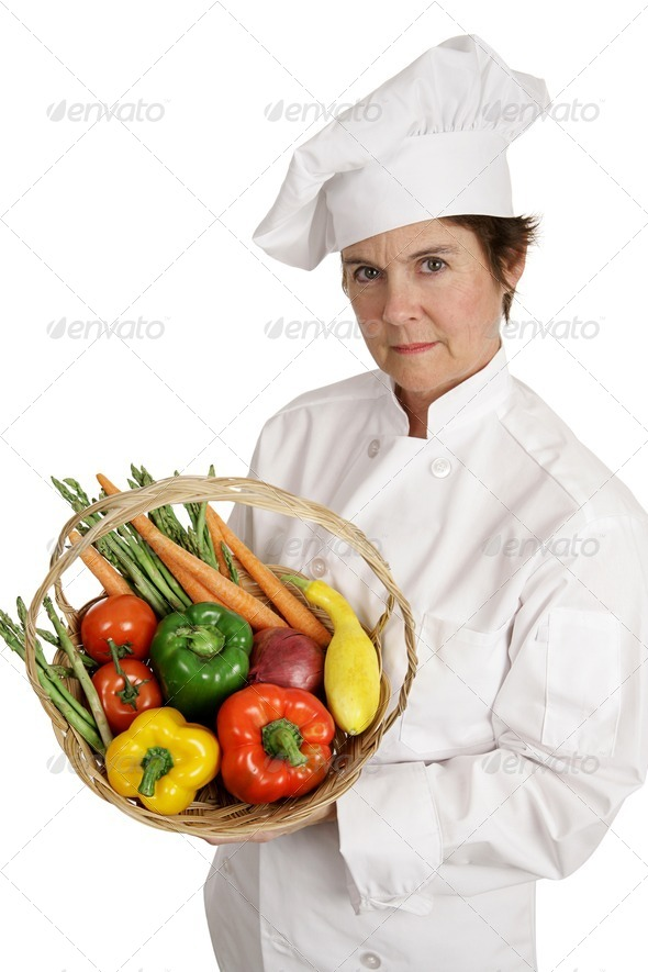 Chef Series - Serious Nutrition - Stock Photo - Images