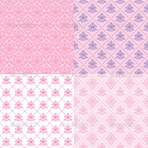 GraphicRiver Pattern Valentine Classic 4292416
