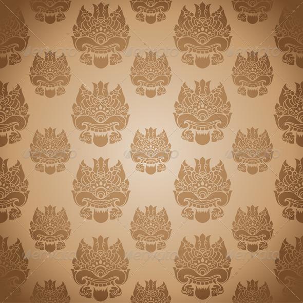 One Eye Background - Patterns Decorative