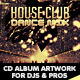 House Club & Dance Mix CD Album Artwork - GraphicRiver Item for Sale