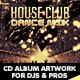 House Club & Dance Mix CD Album Artwork