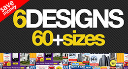 Corporate Web Banner Design Template 67