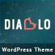 Diablo - Eye-candy Minimal Responsive WP Theme - ThemeForest Item for Sale
